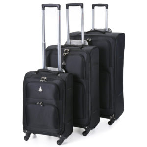 Aerolite The London Collection Lightweight Luggage Set