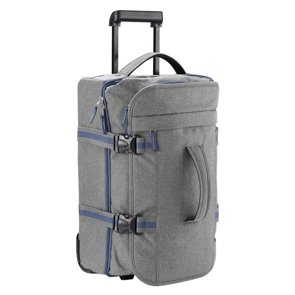 Lightweight Wheeled Trolley Backpack | Concealable Shoulder Straps ...