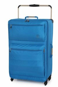 IT Luggage World's Lightest 83cm Four Wheel Spinner Suitcase Blue