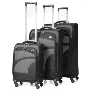 Aerolite Super Lightweight 3 Piece Luggage Set
