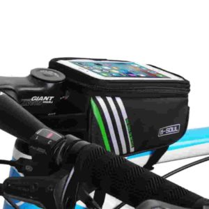 Touchscreen Bike Frame Bicycle Handlebars Panniers Phone Bag Review