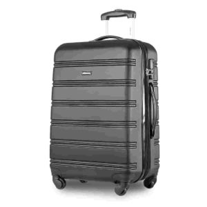 Travelhouse ABS Hardshell 4 wheel Travel Trolley Suitcase